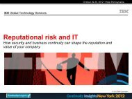 B3. Reputational Risk: Safeguard Your Most Valuable Corporate Asset