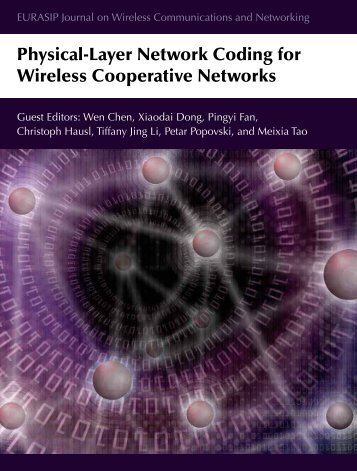 Physical-Layer Network Coding for Wireless ... - Wen Chen