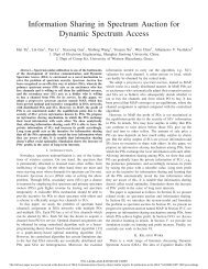Information Sharing in Spectrum Auction for Dynamic ... - IEEE Xplore