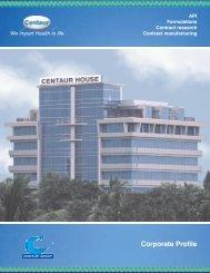 Print & View Corporate Profile