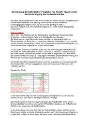 Berechnung der ballistischen Flugbahn - Swat-Einsatz-Team ...