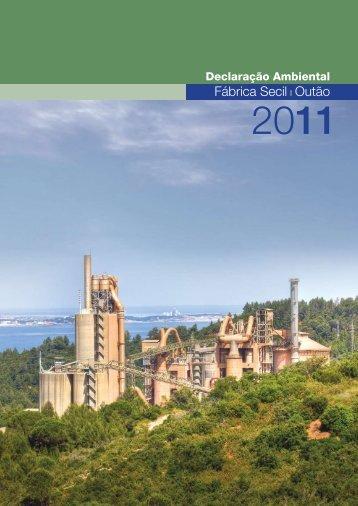 Declaração Ambiental 2011 - Secil
