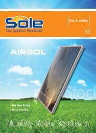 AIRSOL - SOLE S.A. Solar Water Heaters