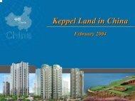 8 Park Avenue Visit - Presentation - Keppel Land