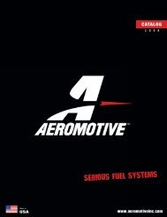 Aeromotive catalog 2008 - DMP Fasteners