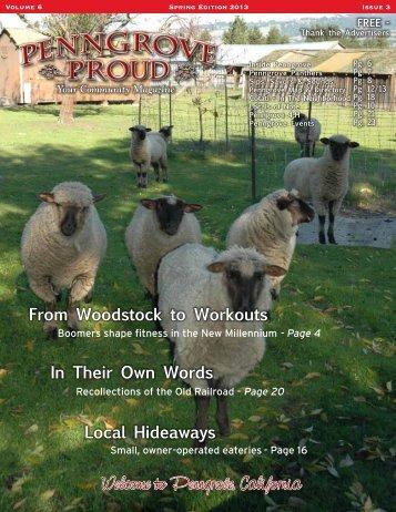 Spring 2013 - Penngrove Proud
