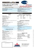 + Product Sheet - AETA Audio Systems - Page 2