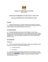 KERAJAAN SERI PADUKA BAGINDA MALAYSIA ... - kpwkm