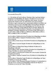 Les accords d'Accra III : 1. A l'invitation de Son Excellence ... - Onuci