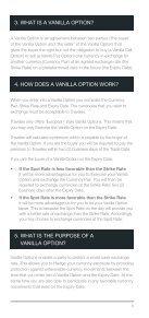 VANILLA FOREIGN EXCHANGE OPTIONS - Travelex - Page 5