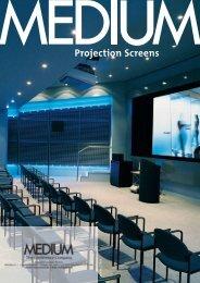 Projection Screens - AV-Esitlus.ee