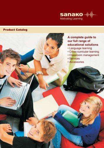 A complete guide to our full range of educational ... - AV-Esitlus.ee