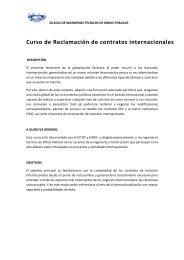 curso reclamacion contratos.docx - Colegio de Ingenieros Técnicos ...
