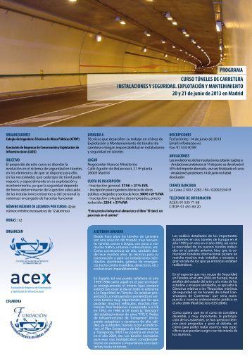 + información - Colegio de Ingenieros Técnicos de Obras Públicas