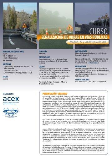 información - Colegio de Ingenieros Técnicos de Obras Públicas