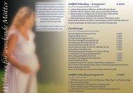 Wellness für Schwangere - Romantik Hotel Johanniter-Kreuz