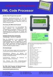 Produkt Flyer - Terminal Systems