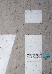 Programm Faltblatt Motiv 3 - 2007