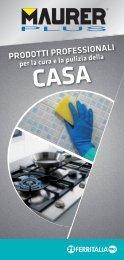 Linea detergenza casa - Maurer - Ferritalia