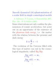 phantomization of a scalar field in simple cosmological models ...