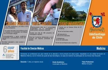 Medicina - Admisión Universidad de Santiago