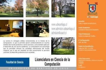 Licenciatura en Ciencia de la Computación - Admisión Universidad ...