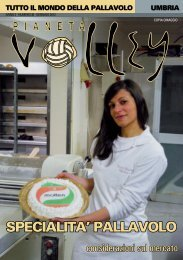 Gennaio 2012 - Pianeta Volley