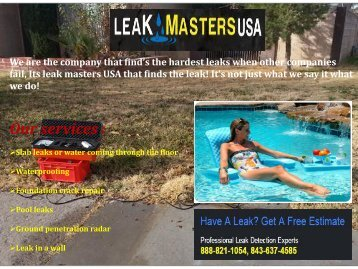 Best Leak Detection Repair Service Charleston