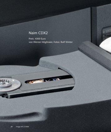 Naim CDX2 - Music Line