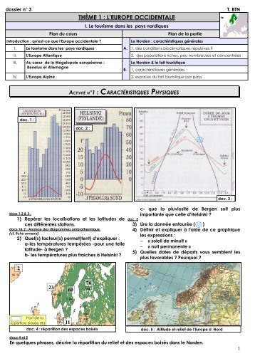 Le Norden - cours et espace de mutualisation histoire géographie ...