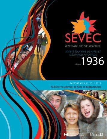 Rapport Annuel 2011-2012 - sevec