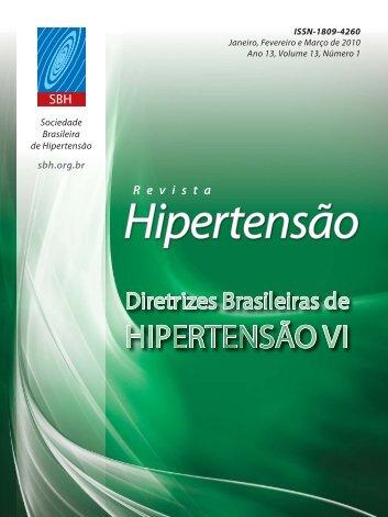 VI Diretrizes Brasileiras de Hipertensão - marchioli