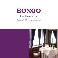 Gastronomie - Bongo
