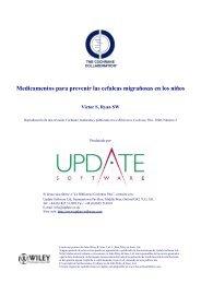 Medicamentos para prevenir las cefaleas migrañosas en ... - marchioli