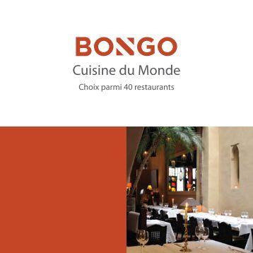 Cuisine du Monde - Bongo