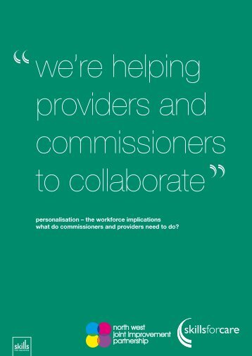 the workforce implications what do commissioners ... - Skills for Care