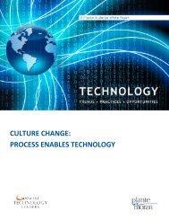 culture change: process enables technology - Plante Moran