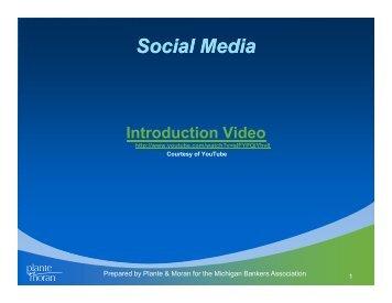 Social Media - Plante Moran