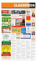 to advertise in MUsCat daily Classifieds Call 99104350 or e-Mail