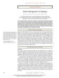 Initial Management of Epilepsy - marchioli