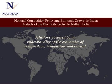A study of the Electricity Sector by Nathan India - cuts ccier