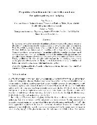 Properties of multinomial lattices with cumulants for option pricing ...
