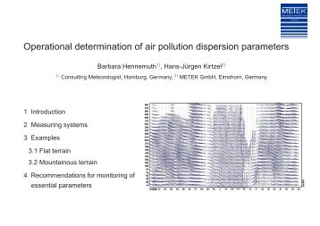 Operational determination of air pollution ... - EMETSOC.org