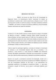INDICO, nos termos do artigo 159 da XIV Consolidação ... - marchioli