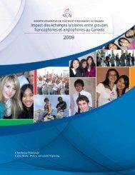 Impact des échanges scolaires entre groupes francophones ... - sevec
