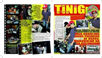 tinig july issue 2012 - Navotas City