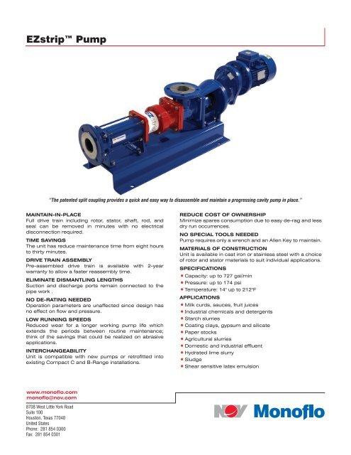 D392004542-MKT-001 Rev 01 EZstrip Pump flyer indd