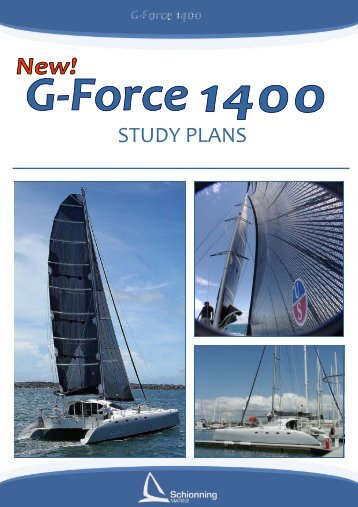 G-Force 1400 Study Plans - Schionning Designs