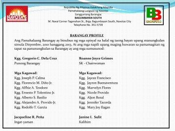 Dating pangalan ng navotas