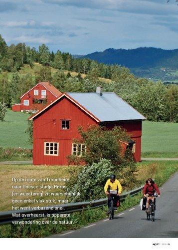naar Op de route van Trondheim naar Unesco stadje Røros - Op Pad